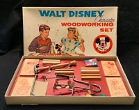 VINTAGE UNUSED WALT DISNEY CHARACTER WOODWORKING SET - COMPLETE IN BOX!