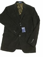 £412 Ralph Lauren blazer brown corduroy 42R sport coat jacket new tags Italy men