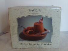 Marjolein Bastin Natures Sketchbook Tabletop Fountain - Wren Bird - Pots, Shovel