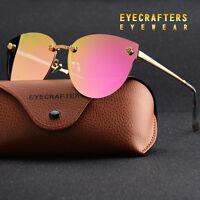 Polarized Sunglasses Women Driving glasses Fashion Cat Eye UV400 Eyewear pink