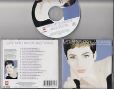 LATE AFTERNOON JAZZ VOCAL 1999 CD Chet Baker Nancy Wilson Dinah Shore Peggy Lee