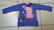 maglia peppa pig maglietta t-shirt bambina nuova  2,3,4,5,6,7 ANNI