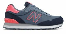 New Balance Women's 515 Shoes Blue with Pink