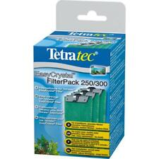 Tetra EasyCrystal Filter Pack 250/300 (Without Carbon) x 3 *GENUINE*
