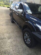 Dominator 4x4 Rock Sliders MQ Mitsubishi Triton Dual Cab NEW