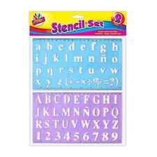 2 piezas de la plantilla Set letras del alfabeto artesanales pequeños y grandes letters-22 A 30 Mm 1071