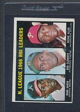 1967 Topps #242 NL RBI Leaders VG *283