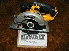 NEW 20V Dewalt Cordless Circular Saw DCS393 Bare Tool out of kit with blade