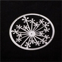 Stanzschablone Blume Kreis Hochzeit Oster Geburtstag Weihnachten Karte Album DIY