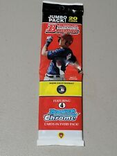 2011 Bowman Baseball Factory Jumbo Rack Pack 20 Bryce Harper Showing Bp1