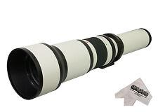 Opteka 650-1300mm HD Telephoto Lens for Nikon Digital SLR Camera