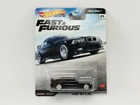 Hot Wheels BMW M3 E36 Black Fast and Furious GBW75-956K 1/64 New Real Riders