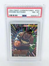 1994 Topps Finest Cornerstones #CS7 Dikembe Mutombo PSA NM-MT 8 Denver Nuggets