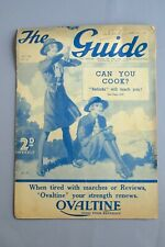 More details for the girl guide magazine from 1940