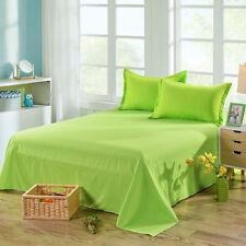 0757 Bed Sheet Solid Color Flat Sheet Bedding High-Grade Bedsheet Bedclothes