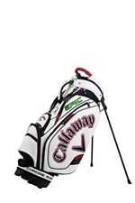 Callaway Caddy Bag TOUR Men's 2021 Model White / Navy / Red Stand Type