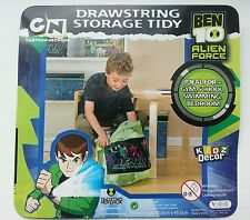 BEN 10 Childrens drawstring tidy bag PE, Swimming, Bedroom, School bag