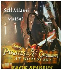 1/6 Hot Toys At World's End Captain Jack Sparrow MMS42 Brown Gun Holster / Belt