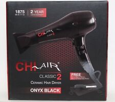 CHI Air Classic 2 Ceramic Hair Dryer + Nylon Bristle Round Brush - CA2148 - New