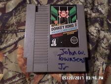 Donkey Kong 3 Nintendo NES Game (FREE Shipping when you buy 10 games)