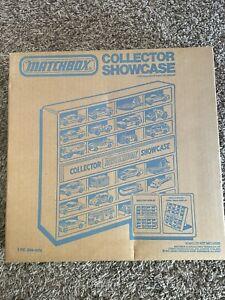 1978 matchbox collector showcase
