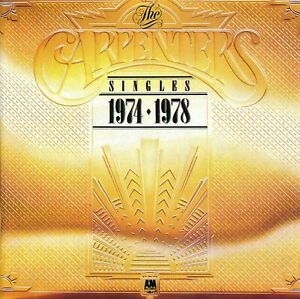 CD Carpenters - The Singles 1974-1978 (Erstauflage)