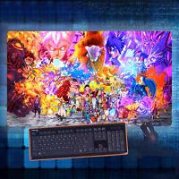 Anime One Piece Luffy Sasuk Mouse Pad Play mat GAME mat Mousepad 40*70cm#84-C694