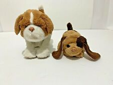 Fur Real Friends Hasbro Newborn Puppy & Snuggimals Long-Eared Puppy Lot of 2