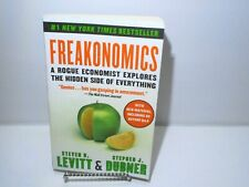 Freakonomics Hidden Side of Everything Economy Drugs Crime Nonfiction Book