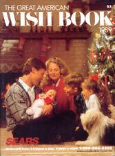 1989 THE GREAT AMERICAN WISH BOOK '89 SEARS CHRISTMAS CATALOG w/Sleeve