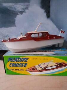 Guiterman Pleasure Cruiser .Empire made (Hong Kong) copy of Triang Derwent boat.