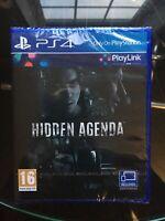 Hidden Agenda PS4 Game (PlayLink) Brand New Sealed