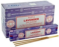 SATYA LAVENDER INCENSE STICKS WITH VARIOUS OPTIONS - 400279