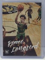 2019-20 Panini Chronicles Luminance #149 Romeo Langford RC Rookie Boston Celtics