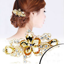 Women Girl's Hair Clips Pins Crystal Barrette Headdress Hairpin Hair Accessories