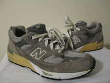 Women's New Balance 991 Grey Suede W991GR Running Shoes SZ US 9  2A