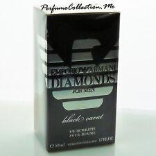 Emporio Armani Diamonds Black Carat for Him 50ml edt - New Sealed - Discontinued
