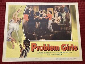 Problem Girls Original Movie Lobby Card 11x14 1953 53/46