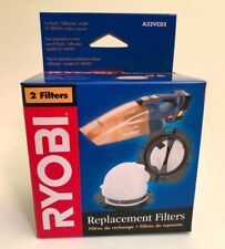 Ryobi Vacuum Replacement Filters A32VC03 Pack