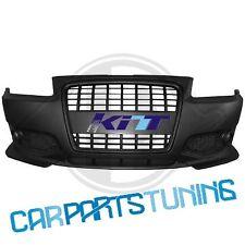 Paraurti anteriore + griglia centrale nera Audi A3 96-03 rs 3 look