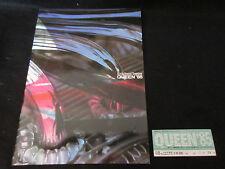 Queen 1985 Japan Tour Book with Ticket Stub Freddie Mercury Concert Program
