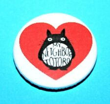 MY NEIGHBOUR TOTORO VALENTINES HEART STUDIO GHIBLI 1 INCH BUTTON PIN BADGES