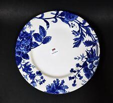 NEW ROYAL STAFFORD WHITE+COBALT BLUE FLORAL DINNER PLATE
