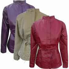 Hip Length Outdoor Biker Jackets for Women