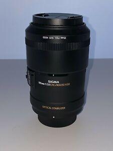 Sigma EX Sigma EX 105mm F/2.8 D Macro Lens For Nikon 105mm f/2.8 EX Lens w/ box