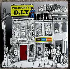 The Right to D.I.Y. 2011 Brown Paper Tickets Sampler INDIE ROCK Sealed Double LP