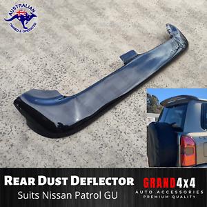 Rear Dust Deflector Visor to suit Nissan Patrol GU Y61 Wagon 1997+