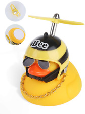 Duck Toy Car Decorations Rubber Duck Car Ornaments For Dashboard Yellow Duck Fun