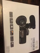 Camcorder Video Camera Digital Recorder Vlogging HAOHUNT HD 1080 3053STRMW