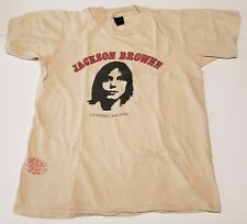 Vintage Jackson Browne Los Angeles Ca T-Shirt tee Proceeds to Non-nuclear Future